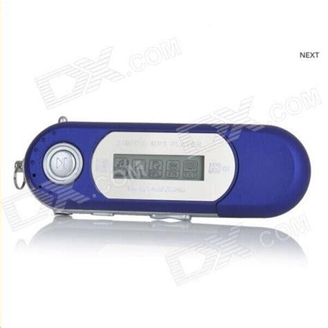Mp3 Sport Baterai Aaa Diskon Portable 1 2 Quot Tft Usb Digital Mp3 Player W Fm Blue 8gb