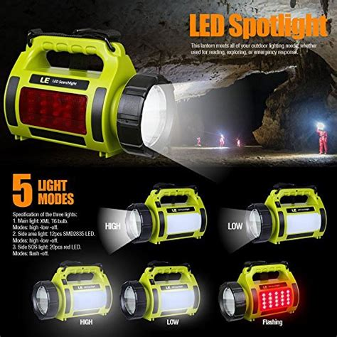 le baladeuse led rechargeable le 1000lm rechargeable outdoor led spotlight 10w cree t6 led searchlight ebay