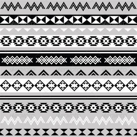 aztec pattern ai tribal ethinc ztec seamless pattern graphicriver