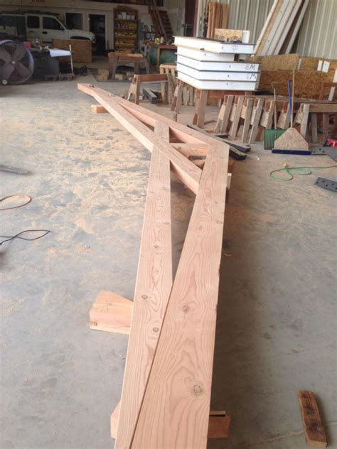 watsonville scissor trusses pacific post beam
