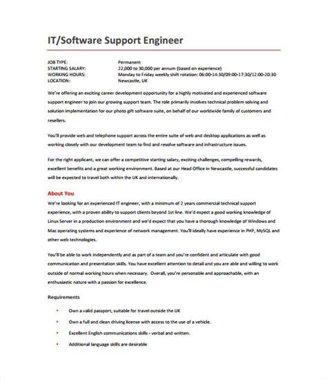 software design engineer job description 14 software engineer job description templates free