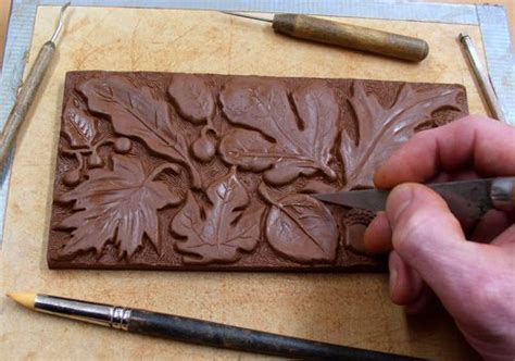 Handmade Clay Tiles - pin by heverley on creative tiles