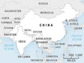 Map Of India And Surrounding Countries by Indians Uneasy As China Builds Ports Nearby Npr