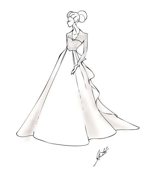 83 Vintage Dress Coloring Page French