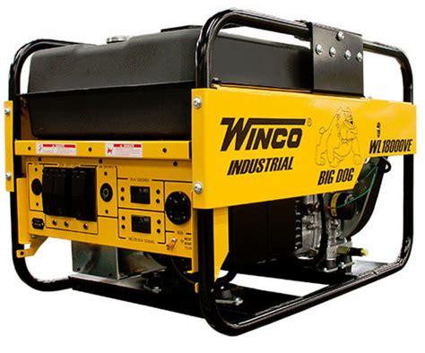 portable electric generator winco 18kw portable electric generator wl18000ve commercial