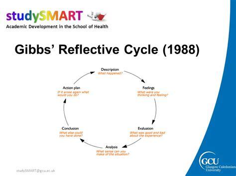 Gibbs Reflective Cycle 1988 how to write reflectively academic development tutors