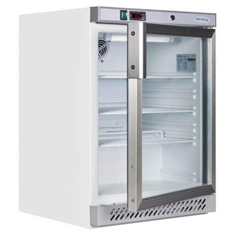 Counter Fridge Glass Door by Tefcold Counter Chiller White Glass Door Ur200g