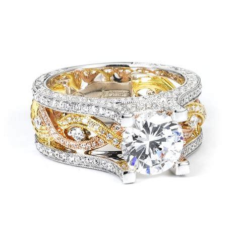 emerald jewelry signature collection 18k tri color