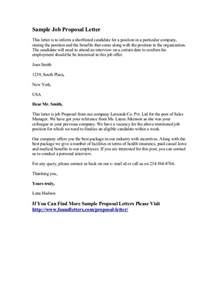writing a for a new position template sle letter