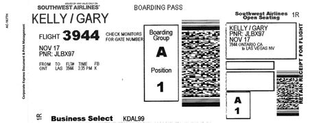 copy  southwest airlines  ticket itinerary yahoo answers