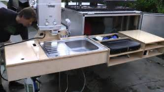 cer trailer kitchen ideas cer trailer setup country cing trailer