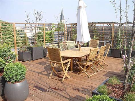 terrasse le terrasse toit