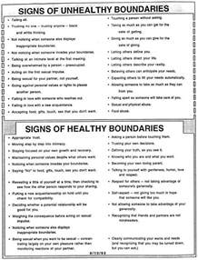 healthy boundaries worksheet don t just pretend that you