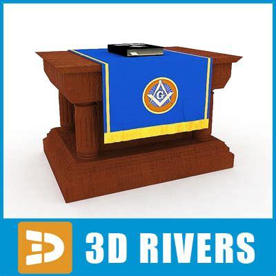 The Secret Of 3d Studio Max Ins Zaharuddin G Djalle Bonus Cd 3d model masonic altar bible