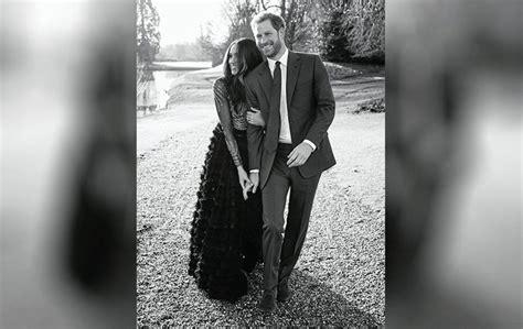 harry and meghan release official engagement photographs the news