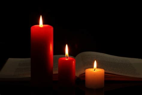candela rossa magia ovvero l antico samhain alcuni riti