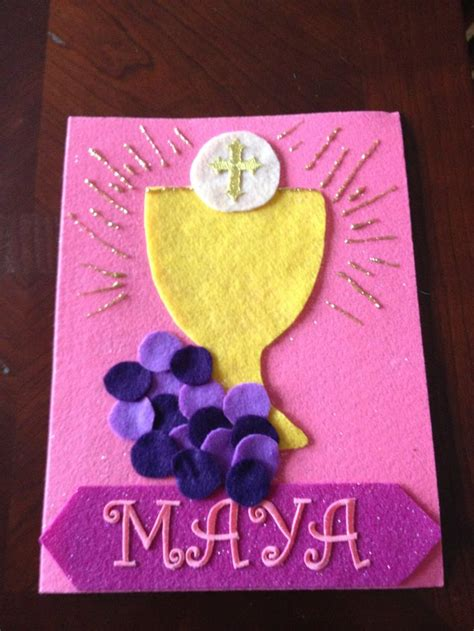 holy communion banner first communion pinterest
