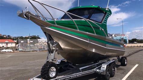 sealegs boat video profile boats 635h limited sealegs retrieval trailer