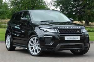 Used Cars Uk Range Rover Evoque Range Rover Evoque Diesel 2 0 Td4 Hse Dynamic 5dr Auto For