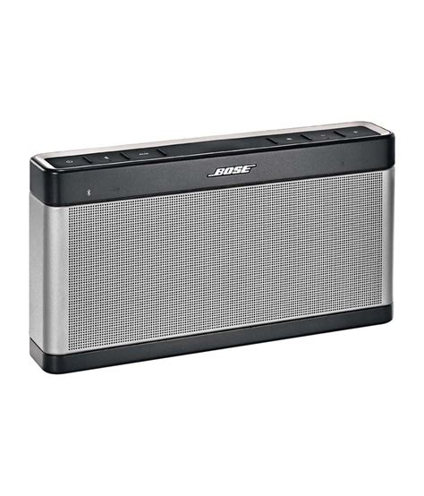 Speaker Bluetooth Bose Original bose soundlink iii bluetooth speaker available at snapdeal for rs 22388