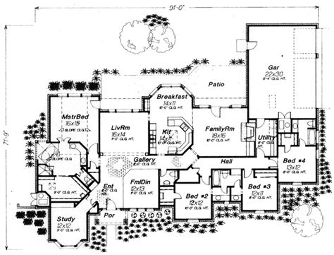 house plans monster traditional style house plans 3089 square foot home 1