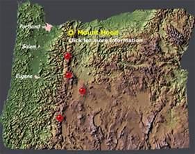 oregon volcano map images