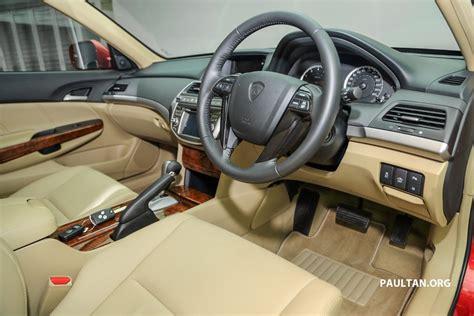 Car Interior Refurbishment Malaysia by 2016 Proton Perdana Interior Launched In Malaysia Indian