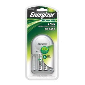 energizer aa aaa nimh rechargeable charger with 2 aa