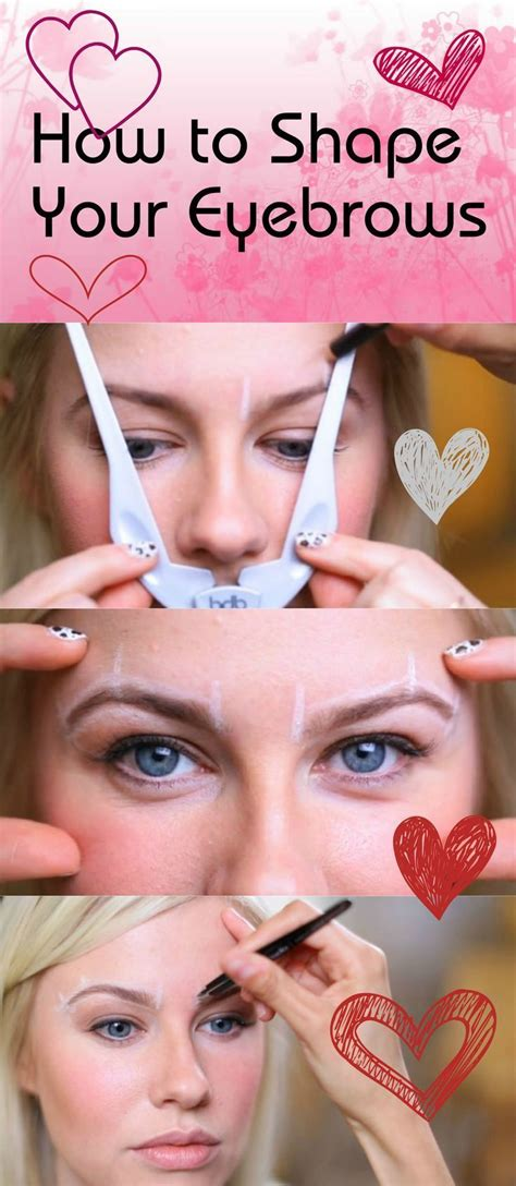 7 Tips To Shape Your Brows Like A Pro by 17 Best Images About Eyebrow Shaping On The