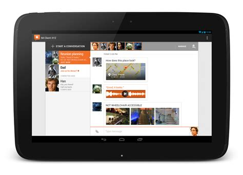 android layout large land tablet android developers blog designing for tablets we re here