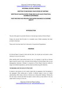 Report Format Essay by Report Writing