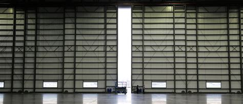 aircraft hangar doors design aircraft hangar doors bottom rolling bi fold single
