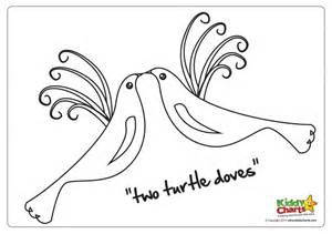 turtle dove template turtle dove coloring page coloring pages