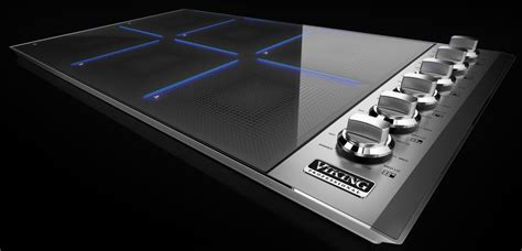 viking vicbst   induction cooktop   cooking
