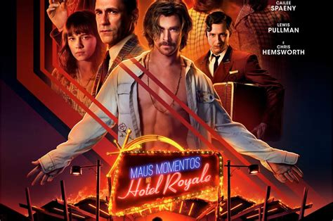 se filmer bad times at the el royale gratis fox divulga p 244 ster de maus momentos no hotel royale nerd