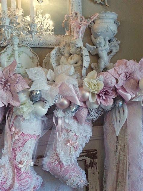 olivia s romantic home inexpensive pink christmas mantel