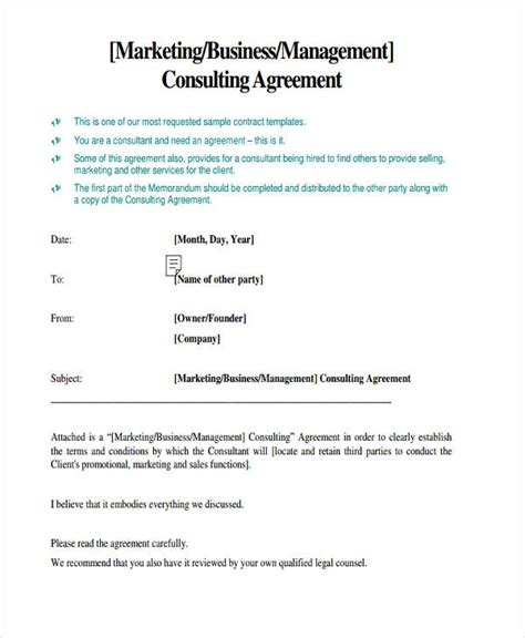 58 Management Agreement Exles And Sles Management Fee Agreement Template