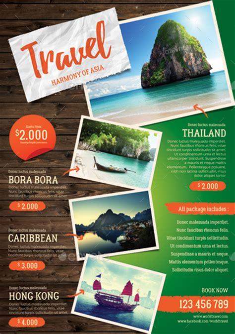 travel agency flyer  monggokerso graphicriver