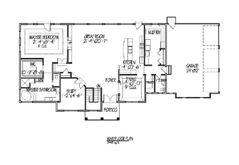 master on main house plans house plans master on main numberedtype