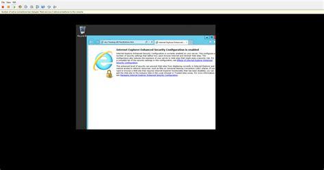 vmware console machine when launching the vmware console via