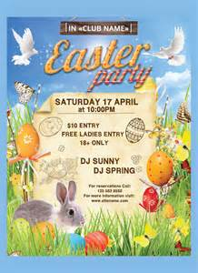 16 easter poster templates free sle exle format