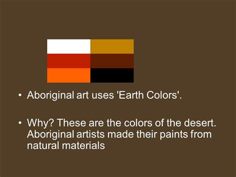 earthtone colors come from natural things around us brown patterns symbols color ppt video online download
