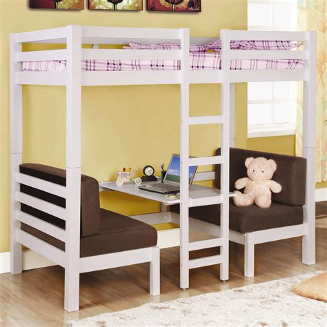 Best Bunk Beds For Small Rooms Bedroom The Best Choices Of Loft Beds With Desks For Small Room Decorating Founded Project