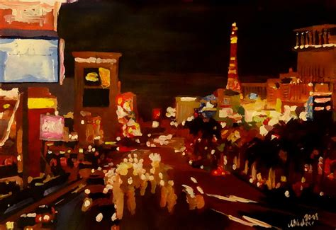 paint nite las vegas las vegas at with neon advertising i by m