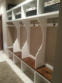Mudroom Locker Plans Diy by Ana White Mudroom Locker System Diy Projects