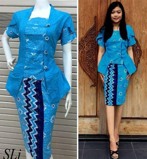 Setelan Starlet 2 Baju Setelan Wanita 20 model baju batik setelan trend terbaru 2018