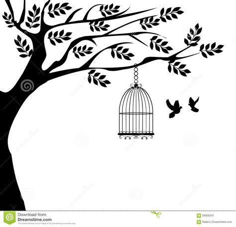 Home Design Unlimited Bird Cage Stock Vector Illustration Of Flower Icon