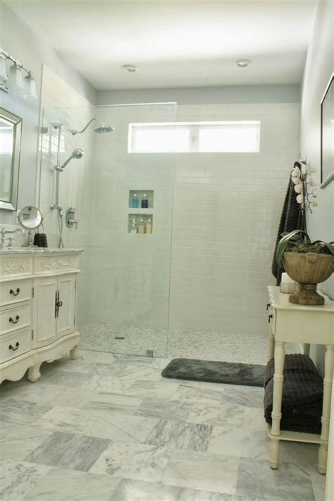 no bathtub in house the comforts of home master bath reveal