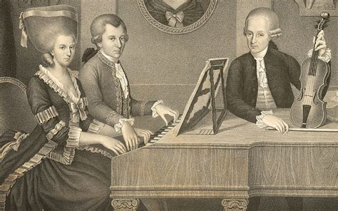 mozart family biography wolfgang amadeus mozart and his father leopold mozart