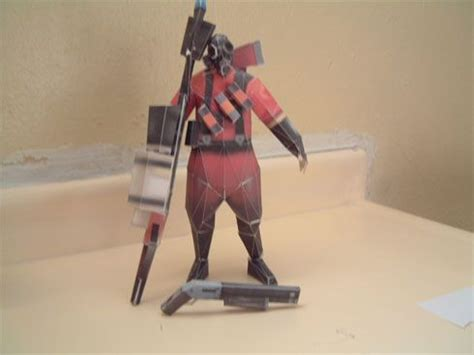 Team Fortress 2 Papercraft - today in joystiq february 4 2008